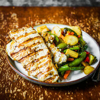 Perfect Work Out Organic Meal Plan - Portions weighed