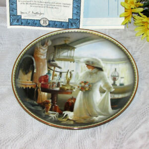 Daddy's Girl Collector Plate Bradford Exchange 2000 Dress up
