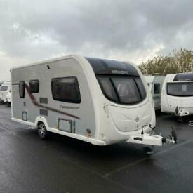 2012 SWIFT Conqueror 480 Touring Caravan - 2 Berth