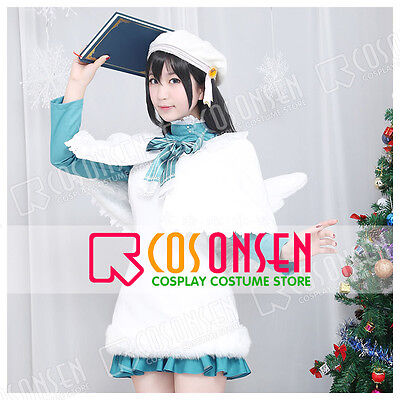 Cosonsen Love Live! Nico Yazawa Christmas Choir Unidolized Cospaly Costume ()