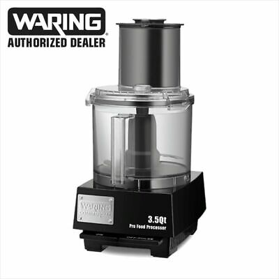 Waring Wfp14s Combination 3.5-qt. Food Processor With Liquilock Seal System