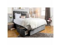 Brand New Arizona divan Beds Sets with mattress available now in stock
