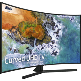 Samsung 65 inch Curved 4K Ultra HD Smart HDR LED TV with Apps built in