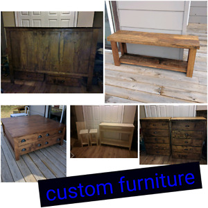 Custom made furniture​