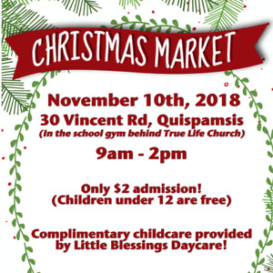 The BEST Christmas Craft Market in the area!