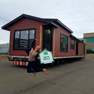 It's delivery day! Your DREAM HOME arrives!