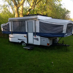 $6500 Mint Condition Tent Trailer