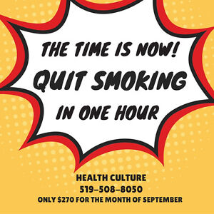 QUIT SMOKING IN ONLY 1 HOUR! Stratford Kitchener Area image 1