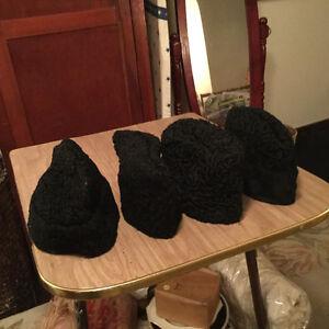 Vintage men's Persian lamb hats for sale Regina Regina Area image 5