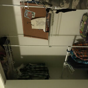 White closet organizer from Home Depot London Ontario image 2