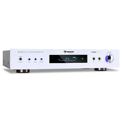 DJ PA KARAOKE AMPLIFICATORE HOME THEATER HI-FI 5.1 FM Ricevitore AUX 600W