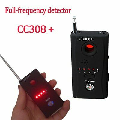 (Anti-Spy Signal Bug RF Detector Hidden Camera Laser Lens GSM Device Finder - USA)