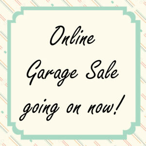 massive RIVERBEND ONLINE GARAGE SALE