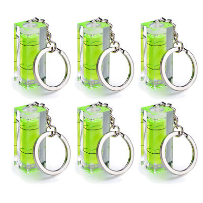 Axis Camera Ring (1/ 6PCS Single Axis Bubble Spirit Level Camera Hot Shoe W/ Key Ring Key Chain )