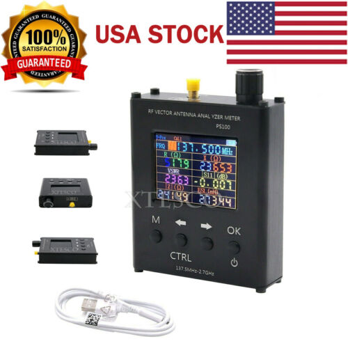 N1201SA UV RF Vector Impedance ANT SWR Antenna Analyzer Meter Tester 140MHz #USA