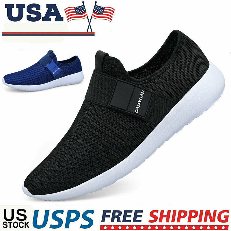 Mens Athletic Sneakers Tennis Walking Sports Running Casual