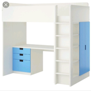 Ikea Loft bed & mattress