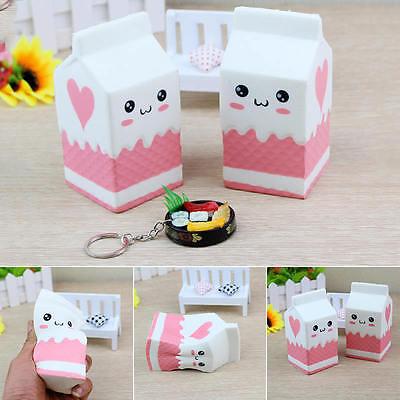 Kaiwaii Squishy Box cartoni del latte scatola Morbidi giocattolo Pane Cellulare