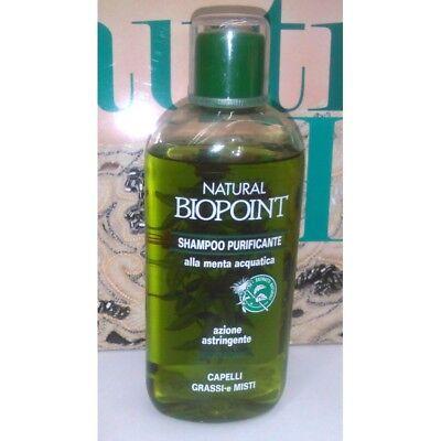 Natürliche Biopoint Reinigendes Shampoo die Minze Aquatische Haare Fettige E