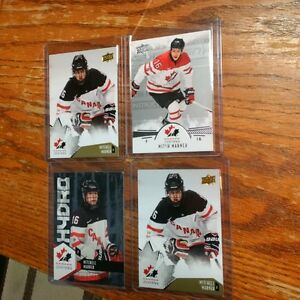Mitchell Marner Team Canada cards