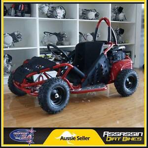 Assassin USA 80cc OHV 4 Stroke KIDS Buggie Go Kart Bike ATV Dirt Caringbah Sutherland Area Preview