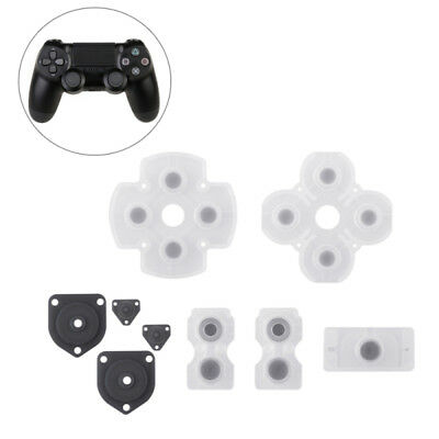 Controller Rubber Conductive Pad Silicon Buttons For PS4 Repair Replacement Part