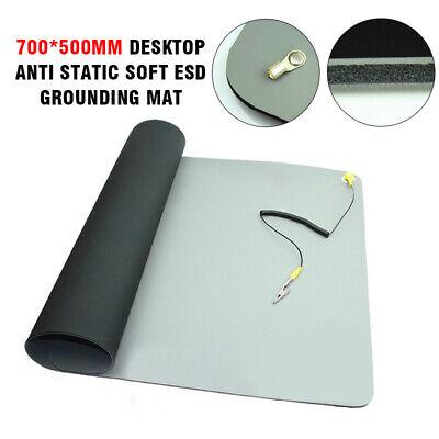 Desktop Anti Static Soft Esd Grounding Mat Cord For Pc Mobile Repair 27.619.7