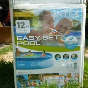 12' pool, like new incl pump and filter