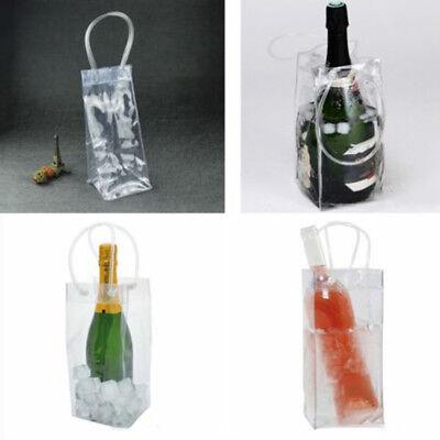 Langlebig Champagner Getränk Wein Bier Eisbeutel PVC Flaschenkühler Chiller Für
