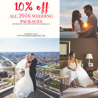 10% off 2016 Weddings Booked in December!!!