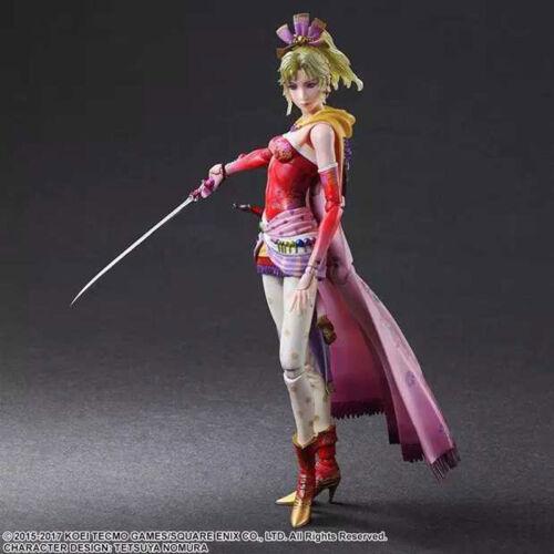 FF6 Final Fantasy Play Arts Kai Terra Branford PVC Action Figure Model No Box