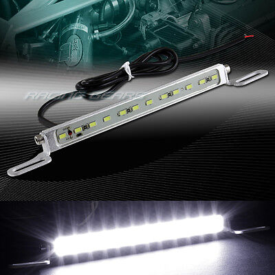 7000K XENON WHITE 12-SMD LED DRL BOLT-ON CAR TRUCK LICENSE PLATE LIGHT UNIVERSAL