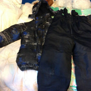 Boy s winter jacket and ski pants