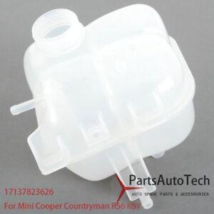 Expansion Tank For Mini Cooper R56 R57 Coolant Overflow Bottle Reservoir 1.6L