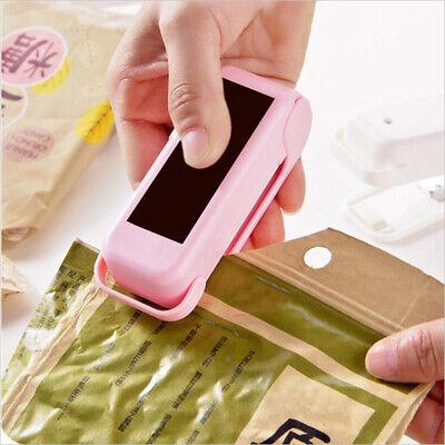 Mini Heat Sealer Sealing Machine Impulse Handheld Food Poly Bag Portable Plastic