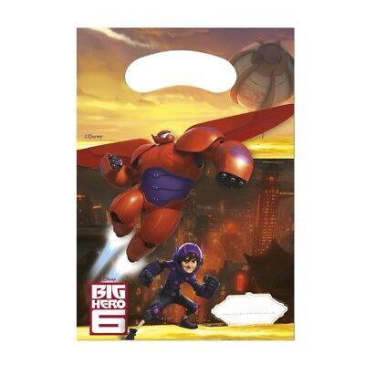 Big Hero 6 BAYMAX ries.. Robowabohu Party Tüten Deko Kindergeburtstag ()