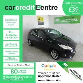 BLACK FORD FIESTA 1.5 ZETEC TDCI ***FROM £39 PER WEEK***