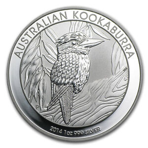 Pièce en argent/silver bullion Kookaburra 2014 1 Ounce .999