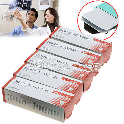 Sale 5 Boxes Dental X-ray Film Size 3cm X 4cm For Reader Scanner Machine