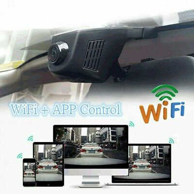 WIFI Car DVR HD 1080P Hidden Camera Front Rear Dash Cam Dual Lens Video Recorder