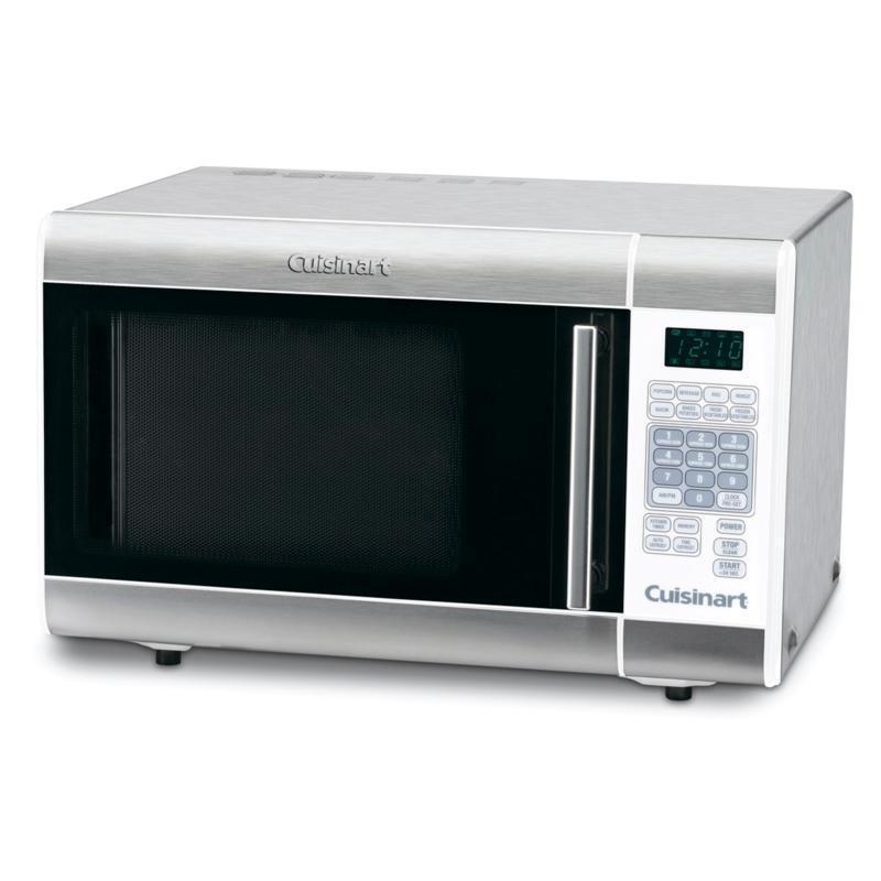 1 000 watt stainless steel microwave oven