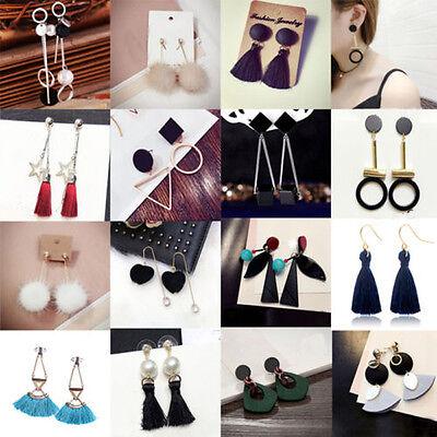 Earrings - Fashion Women's Rhinestone Tassel Ear Stud Dangle Earrings Charm Jewelry New