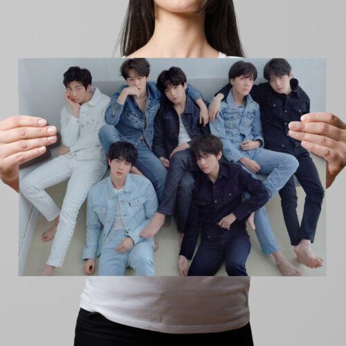 KPOP BTS LOVE YOURSELF 轉 Tear Wall Poster Bangtan Boys Coated Paper Wallpaper