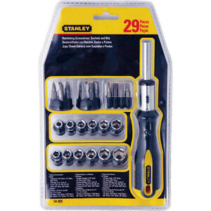 NEW Stanley 29 Pc Ratcheting Set, Brand new in pack & never used