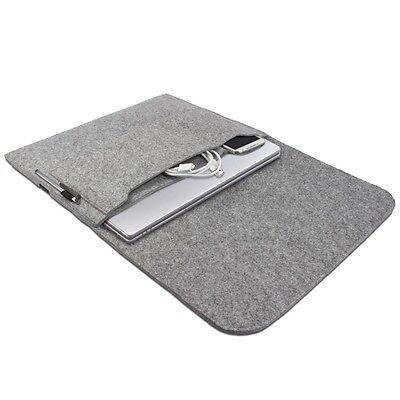 Tasche für Apple MacBook Air 13,3 Zoll Hülle Notebook Case Sleeve Filz grau