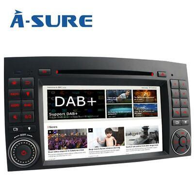 7'' Touchscreen Autoradio DVD GPS für Mercedes Benz A W169 W245 VW Crafter Vito