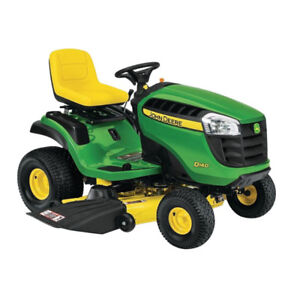 JOHN DEERE D140 – 2016 model – less than 22 hours on it