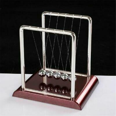 Newtons Cradle Steel Balance Ball Physics Science Pendulum Desk Toys Games Desk