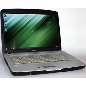 Acer Aspire 5315 Laptop Core2 Duo DVDRW 2GB RAM 80GB WiFi 15.4""