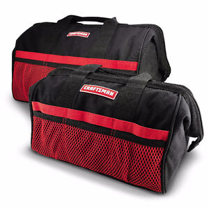 Craftsman 13 in. & 18 in. Tool Bag Combo - New Stock